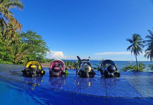 PADI Spezialkurs Vollgesichtsmasken auf den Philippinen