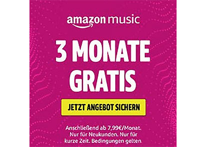 Amazon Music gratis testen